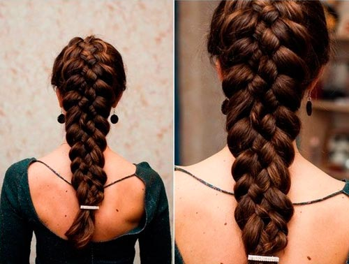 Красивый плетения волос фото