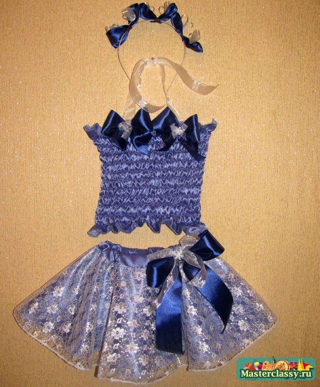Как сшить новогодний костюм для девочки мастер класс