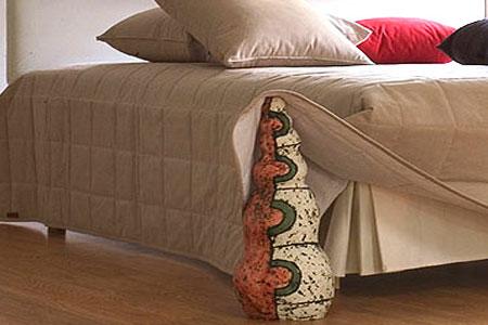 Как пошит стеганое покрывало на кровать